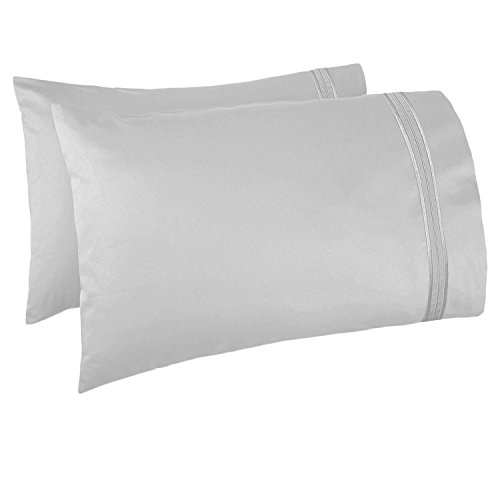 Nestl Bedding Soft Pillow Case Set of 2 - Double Brushed Mic