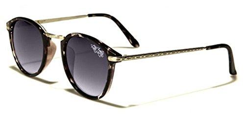 Retro Rewind Vintage 70s Mens Sunglasses Gray | Gradient Smoke