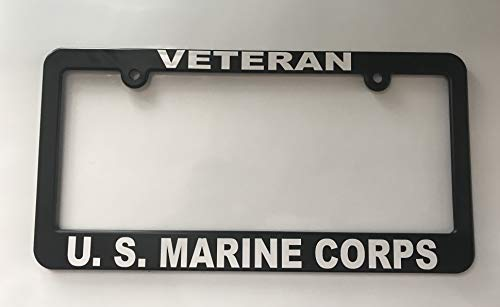 Veteran US Marine Corps License Plate Frame Holder USMC
