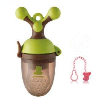 Silicone Baby Feeder Feeding L (Green) - 4