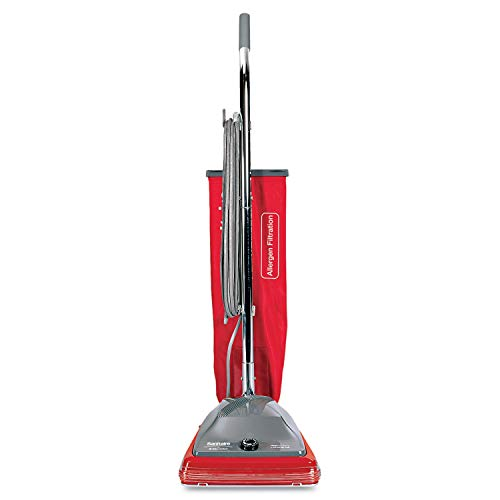 (Sanitaire Commercial Standard Upright Vacuum, 19.8lb, Red/Gray - SC688A)