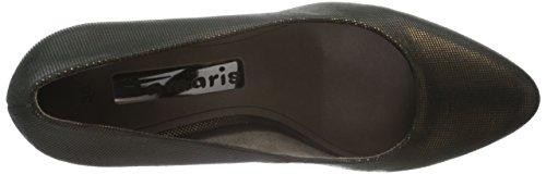 Tamaris 22446, Zapatos de Tacón para Mujer Marrón (BRONCE STRUCT. 975)