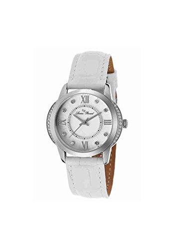 Lucien Piccard Womens Crystal - Lucien Piccard Women's LP-40001-02S-WHT Dalida Analog Display Quartz White Watch