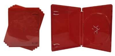 amazon com 5 empty standard red 14mm replacement boxes cases