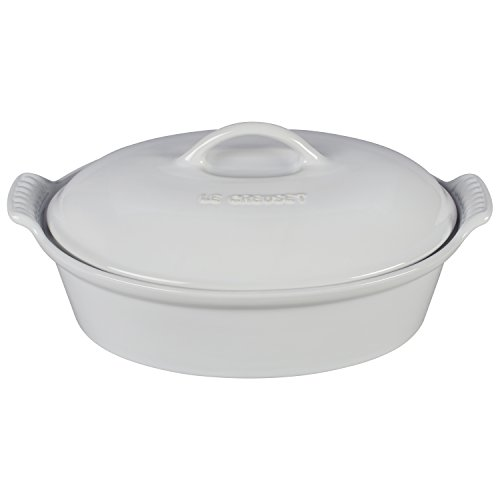 Heritage Covered Oval Casserole Color: - Pot Covered 2.5 Quart