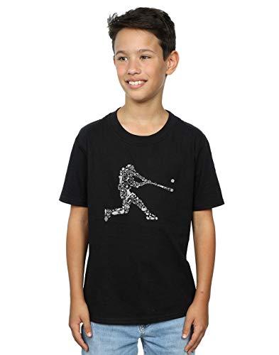 T shirt Baseball Drewbacca Player Absolute Cult Noir Garçon twqBXc4cxY