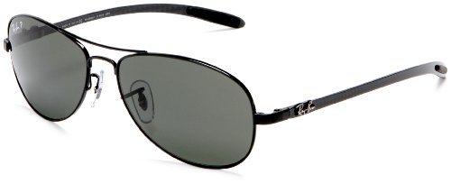Ray-Ban RB8301 - BLACK Frame CRYSTAL POLAR GREEN Lenses 56mm - 8301 Rb