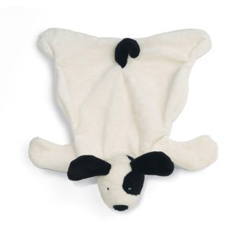 North American Bear Flatopup Baby Cozy - Black/White