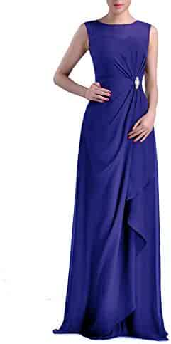 2959d86d42e Formal Bridesmaid Dress Chiffon Special Occasion Long Mother of the Bride  Groom Dress
