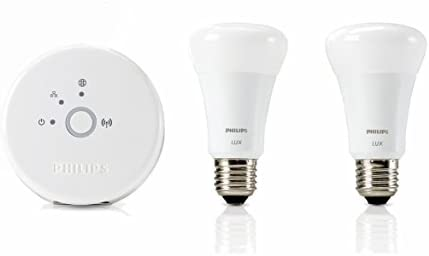 Philips Hue Hue Lux LED Personal Wireless Lighting E27 Bombilla, 9 ...