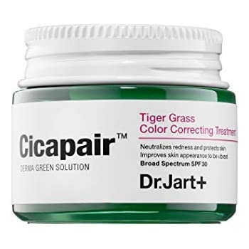 DR. JART+ Cicapair Tiger Grass Color Correcting Treatment SPF 30 0.5 oz/ 15 mL (travel size)