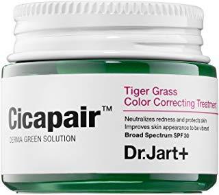 Tiger Nose Makeup (DR. JART+ Cicapair Tiger Grass Color Correcting Treatment SPF 30 0.5 oz/ 15 mL (travel)