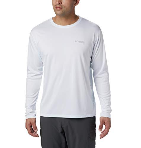 Columbia Men's PFG Zero Rules¿ L/S Shirt White X-Large
