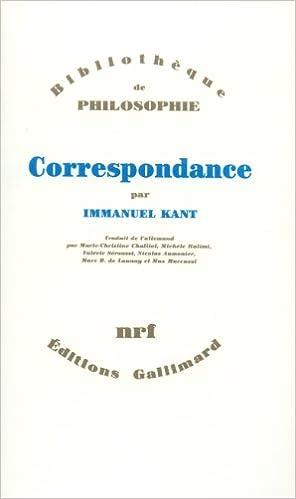En ligne téléchargement gratuit Correspondance pdf