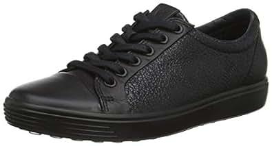 ECCO Women's Soft 7 W Shoes, Black/Black, 37 EU