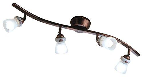 Lampada da soffitto ferroluce treviso realizzato a mano made in