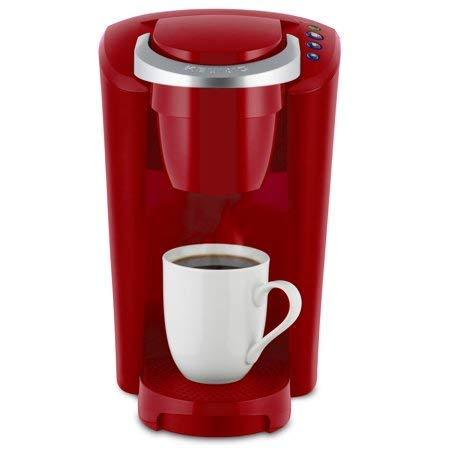 Keurig K-Compact Single-Serve K-Cup Pod Coffee Maker, Imperial Red by Keurig