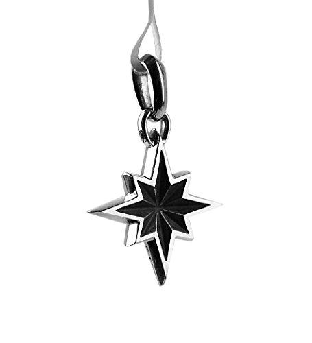 DAVID YURMAN STERLING SILVER SMALL NORTH STAR CUTOUT AMULET ENHANCER NEW 9P