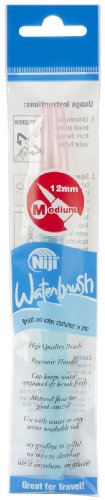 Yasutomo Niji Water Brush with 12mm Tip, Medium