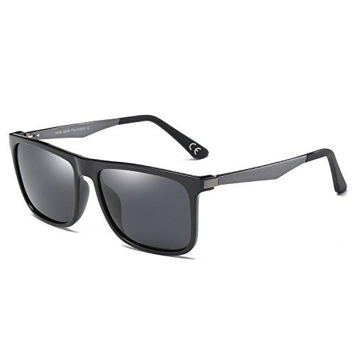 Sol Classic BVAGSS Para Design Black Excelentes Vintage WS021 Y 3 Bicicleta Gafas Sand Polarizado Hombre Frame Gray Modelo De Conducir Gafas Montar Lens wqEpYfq