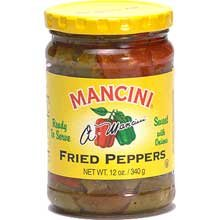 (Mancini Fried Peppers with Onions - 12 oz. jar, 12 jars per case)