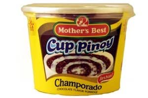 Mothers Best Cup Pinoy Champorado Chocolate - 40 Gm - Brown