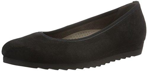 Gabor Shoes Comfort Sport, Bailarinas para Mujer Negro (schwarz 97)