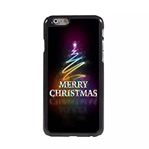 QHY Christmas Pattern Metal Soft Cover for iPhone 6