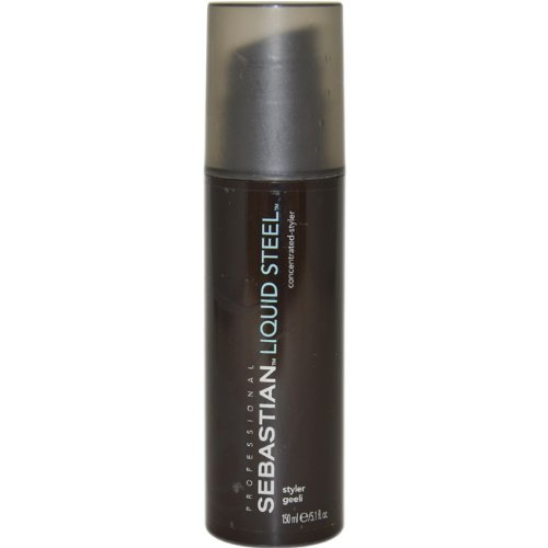 Liquid Steel Concentrated Styler Unisex by Sebastian, 5.1 Ounce by Sebastian (Steel Styler Liquid Concentrated)