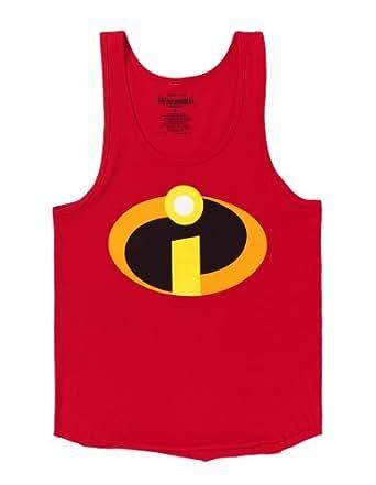 Amazon.com: The Incredibles Logo Costume Adult Tank Top ... - photo#39