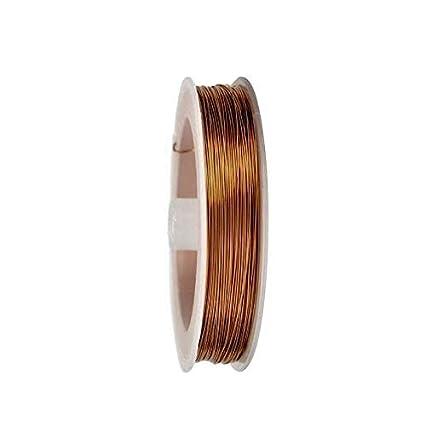 ART IFACT 20 Meters Enameled Copper Winding Wire - 27 Gauge (0.41 mm Diameter)