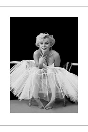 Pyramid America Marilyn Monroe Ballerina Hollywood Glamour Celebrity Actress Icon Photograph Photo Poster 24x32 ()