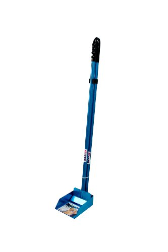 Flexrake 57WB Blue Panorama Small Pan and Spade Set with 3-Inch Aluminum Handle ()