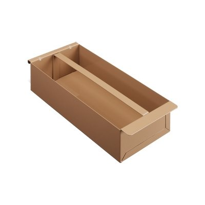 Tool Tray, 16-5/8 in. Lx8 in. W, Steel, Tan