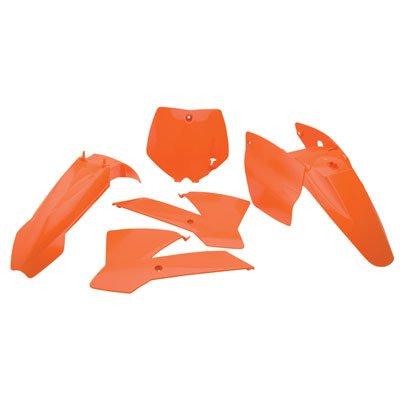 Polisport Complete Replica Plastic Kit KTM Orange for KTM 65 XC 2008