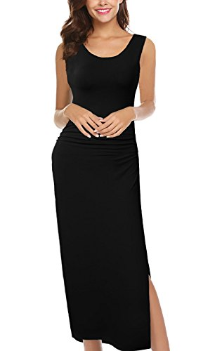 HiQueen Womens Sleeveless Bodycon Casual