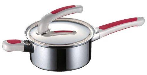 Fujinosu IH corresponding pot Sofitto 14cm red E 148018 0136ao by Fujinosu