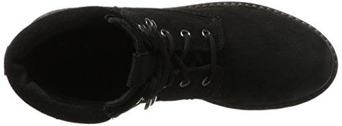 S.oliver 25204 Damen Combat Boots Schwarz (nero Uni)