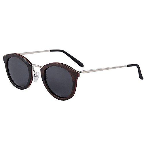 a protección los la sol Eyewear sol alta vendimia Gafas Adult de Gafas de las de de ULTRAVIOLETA polarizadas de conducen calidad la gafas que de hechas madera sol Beach Sun de mano de pequeños hombres 18x4nqxw