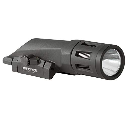 Inforce WMLx Gen 2 Weapon Mount Tactical Light 800 Lumens Bundle with 2 Extra Energizer CR123 Batteries and a Lightjunction Battery Case by InForce (Image #2)