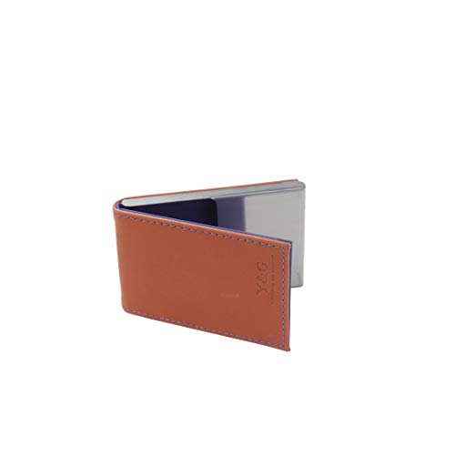 Y&G Mens Fashion Unisex Leather PU Business Card Holder with Magnetic