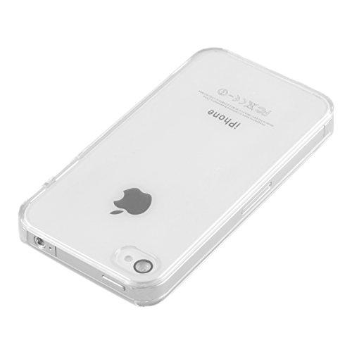 DeinPhone coque de protection rigide pour apple iPhone 4/4S coque de protection en plastique transparent