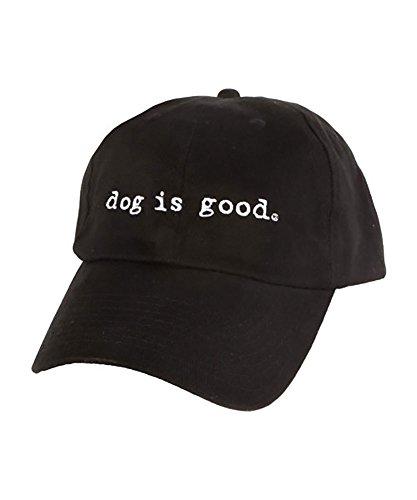 Dog is Good Unisex Signature Hat One Size Black