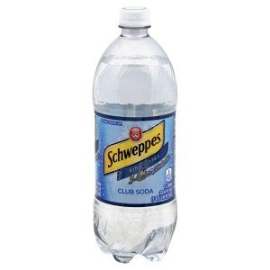 Schweppes Club Soda 20 Ounce (Pack of 24)