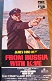 James Bond 007: From Russia With Love (CBS FOX VHS) 1984