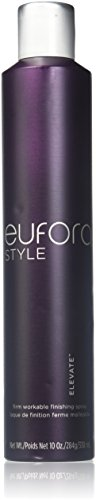Hair Eufora Spray - Eufora Elevate Firm Hold Workable Finishing Hair Spray 10 Oz