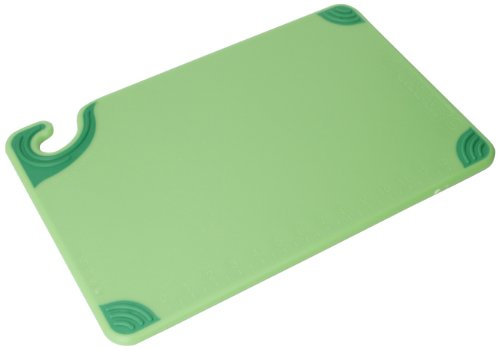 San Jamar CBG121812 Saf-T-Grip Co-Polymer Standard Size Cutting Board, 18
