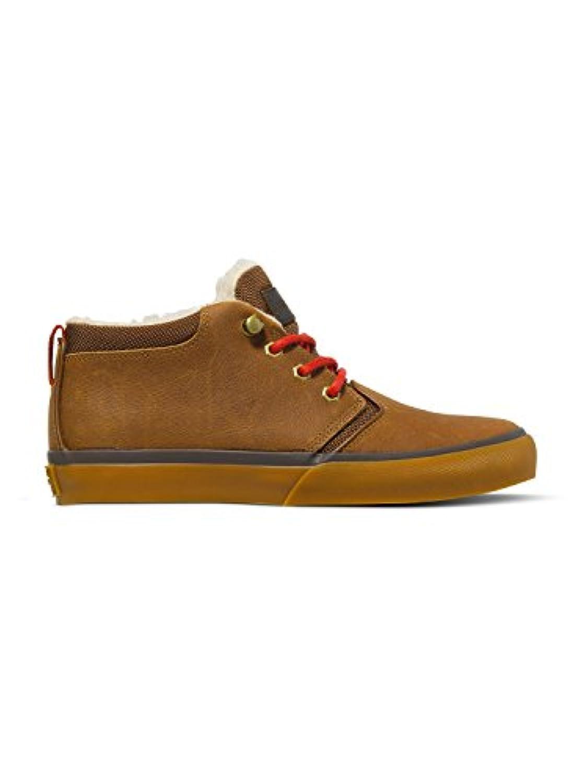 Quiksilver Griffin Fg, Unisex Kids' Low-Top Sneakers, Brown, 1 UK (33 EU)