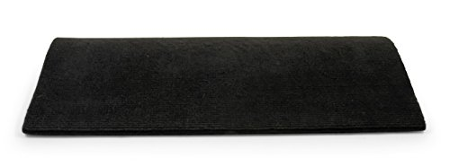 Camco 42909 Black Premium Wrap Around RV Step Rug (100% Polyester (22