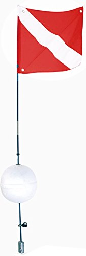 (Scuba Max Dive Ball Float Holder with Flag)